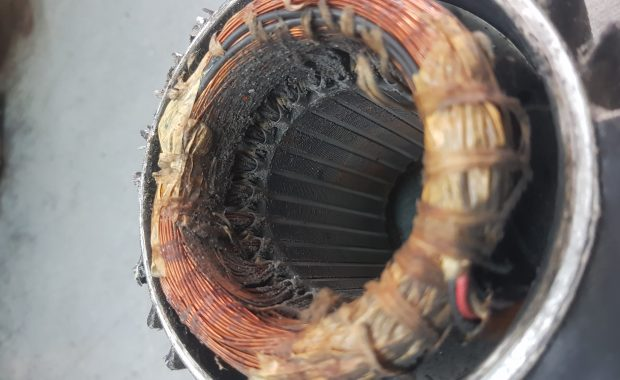 Bobinado bomba de piscina